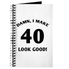 40 Yr Old Gag Gift Journal