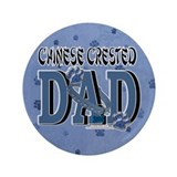"Chinese Crested Dad 3.5"" Button (100 pack)"