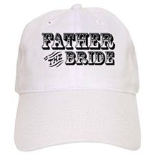 Father of the Bride - Old West Baseball Cap