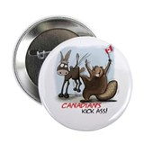 "Canadians Kick Ass 2.25"" Button (10 pack)"