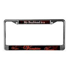 Boyfriend Vampire V2 License Plate Frame