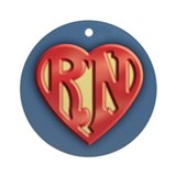 Superb RN IV Ornament (Round)