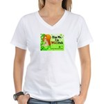 Mari Carr Women's V-Neck T-Shirt