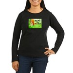 Mari Carr Women's Long Sleeve Dark T-Shirt