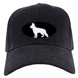 White German Shepherd Baseball Cap