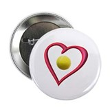 "Love Tennis 2.25"" Button"