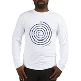 Spiral Wrestler Words Long Sleeve T-Shirt