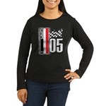 V FLAG 2005 Women's Long Sleeve Dark T-Shirt