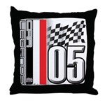V FLAG 2005 Throw Pillow