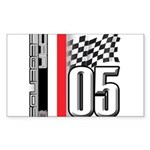 V FLAG 2005 Sticker (Rectangle 50 pk)
