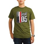 V FLAG 2005 Organic Men's T-Shirt (dark)