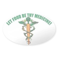 Wholefood Farmacy Logo Oval Decal