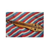 Dulcimer Love Rectangle Magnet