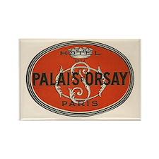 Palais d'Orsay Paris Luggage Tag Rectangle Magnet