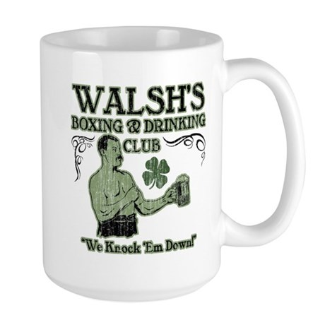 Walsh's Club Large Mug