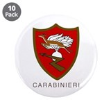 "Carabinieri 3.5"" Button(10 pk)by Peter Bruce"