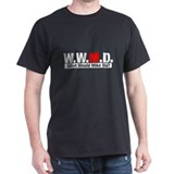 WWMD What Would Mike Do? Black T-Shirt