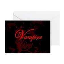 Vampire Ornamental Greeting Cards (Pk of 10)