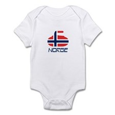 Norway Curling Infant Bodysuit