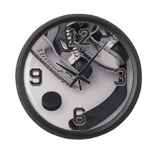 Hockey Large Wall Clock