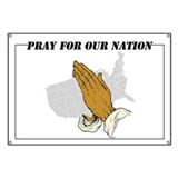 Pray For Our Nation Banner