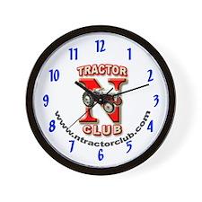 Blue NTC Wall Clock