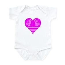 Heart Pink Infant Bodysuit