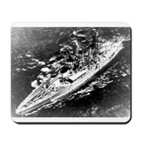 USS West Virginia Ship's Image Mousepad