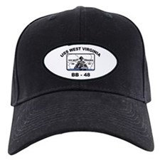 USS West Virginia BB 48 Baseball Hat
