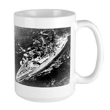 USS West Virginia Ship's Image Mug