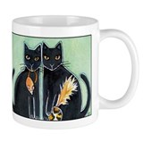 PARLOR PANTHERS... Coffee or Cocoa Small Mug