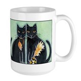 PARLOR PANTHERS...Extra Large Coffee or Cocoa Mug