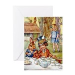 MAD HATTER'S TEA PARTY Greeting Card
