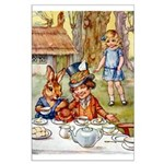 MAD HATTER'S TEA PARTY Large Poster