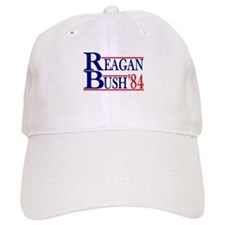 Reagan Bush 1984 Baseball Cap