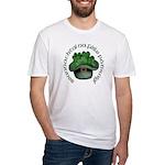 Shamrocks (Gaelic) Fitted T-Shirt
