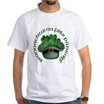Shamrocks (Gaelic) White T-Shirt