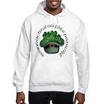 Shamrocks (Gaelic) Hooded Sweatshirt
