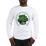 Shamrocks (Gaelic) Long Sleeve T-Shirt