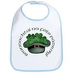 Shamrocks (Gaelic) Bib