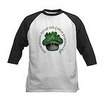 Shamrocks (Gaelic) Kids Baseball Jersey