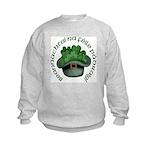 Shamrocks (Gaelic) Kids Sweatshirt