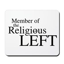 Religious LEFT Mousepad