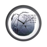 UU - Web of Life Wall Clock