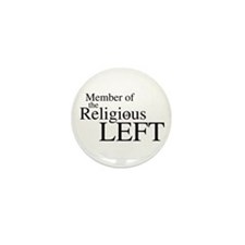 Religious LEFT Mini Button (10 pack)