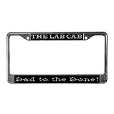 Lab Cab License Plate Frame