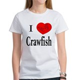 I Love Crawfish Tee