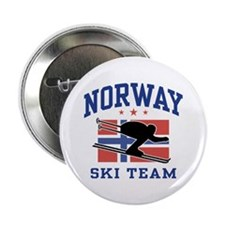 "Norway Ski Team 2.25"" Button"
