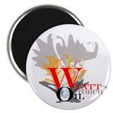 "Wyatt's Torch 2.25"" Magnet (100 pack)"