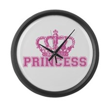 Crown Princess Large Wall Clock